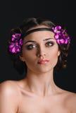 Falska ögonfrans i form av fjärilar Royaltyfri Bild