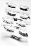 falska ögonfranser Fotografering för Bildbyråer