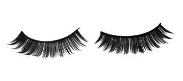 falska adhesive ögonfranser royaltyfri fotografi
