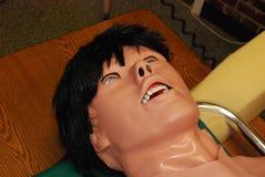 falska medicinska simuleringsdeltagare Royaltyfria Bilder