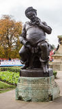 Falstaff. Monument in Stratford upon Avon Stock Photography