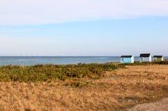Falsterbo沙丘的费尔斯在Hovbacken附近的在瑞典 免版税图库摄影