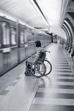 Faltó el tren Fotografía de archivo libre de regalías
