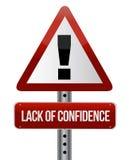 Falta da confiança Fotografia de Stock Royalty Free