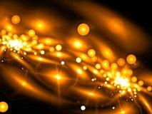 Falta de definición abstracta con las burbujas - imagen digital generada imagen de archivo libre de regalías