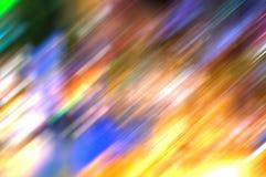 Falta de definición abstracta de-enfocada coloreada multi colorida de la foto imagenes de archivo