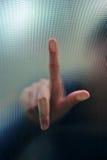 Falta de definición abstracta del dedo Fotos de archivo