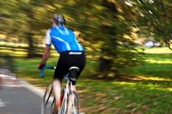 Falta de definición de ciclo de la velocidad Fotografía de archivo libre de regalías