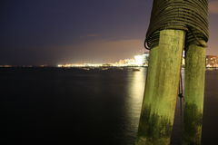 Falta de definición 1 de la luz de la noche Imagen de archivo libre de regalías