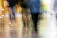 Falta de definición de la muchedumbre Fotografía de archivo