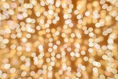 Falta de definición de las luces del color Imagen de archivo libre de regalías