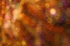 Falta de definición de luces Foto de archivo libre de regalías