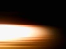 Falta de definición de movimiento anaranjada diagonal con el fondo ligero del escape Imagen de archivo