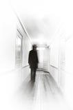 Falta de definición de movimiento de la sombra Fotografía de archivo
