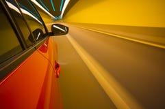 Falta de definición de movimiento del coche Foto de archivo libre de regalías