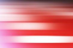 Falta de definición de movimiento rosada horizontal con el fondo ligero del escape Foto de archivo