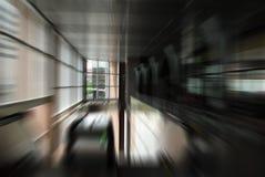 Falta de definición de movimiento urbana abstracta Imagen de archivo libre de regalías