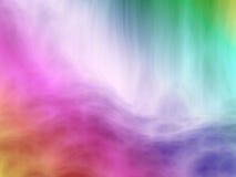 Falta de definición del arco iris Imagen de archivo libre de regalías