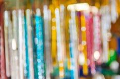 Falta de definición del bokeh colorido Fotografía de archivo libre de regalías