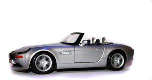 Falta de definición móvil del coche del juguete fotografía de archivo