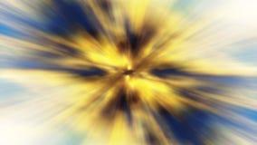 Falta de definición de movimiento abstracta del fondo del oro