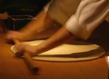 Falta de definición de la pizza Imagen de archivo libre de regalías