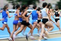 Falta de definición del atletismo Foto de archivo libre de regalías
