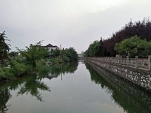 Falta de Fron China Foto de Stock