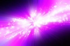 Faltas de definición abstractas de la luz Foto de archivo