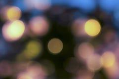 Faltas de definición coloridas de la luz Fotografía de archivo
