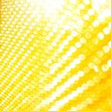 Faltas de definición de oro de la luz stock de ilustración