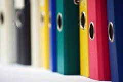 Faltblätter Stockfotografie