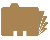 Faltblattsymbol Stockbilder