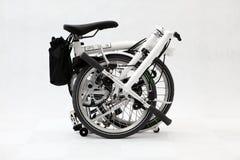 Faltendes Fahrrad 4 Lizenzfreies Stockbild
