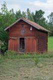 Falu red Swedish barn Royalty Free Stock Image
