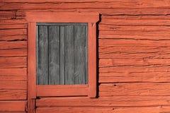 Falu red - Swedish paint Stock Image