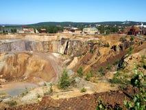 Falun-Bergwerk Stockbilder