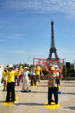 Falun Dafa in Paris Stock Photos
