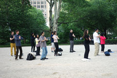 Falun Dafa Stock Photo