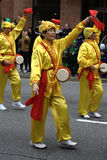 Falun Dafa, St. Patrick's Day Parade Stock Photos