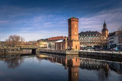 Free Falun - March 30, 2018: Historic Center Of The Town Of Falun In Dalarna, Sweden Royalty Free Stock Photography - 155456137