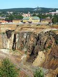 Falun Mine. The great copper mine world heritage site in Falun, Sweden Stock Images