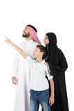 Família árabe Imagem de Stock Royalty Free