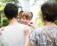 A família é feriado da excursão junto Foto de Stock