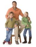 Família étnica fotos de stock royalty free