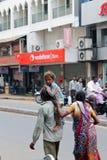 Família-Índia pobre Foto de Stock Royalty Free
