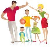 Família Imagem de Stock Royalty Free