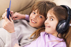 Adolescente feliz e alegre Imagem de Stock