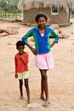Família africana foto de stock