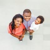Família africana em casa foto de stock royalty free